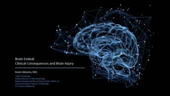 Brain Emboli Video